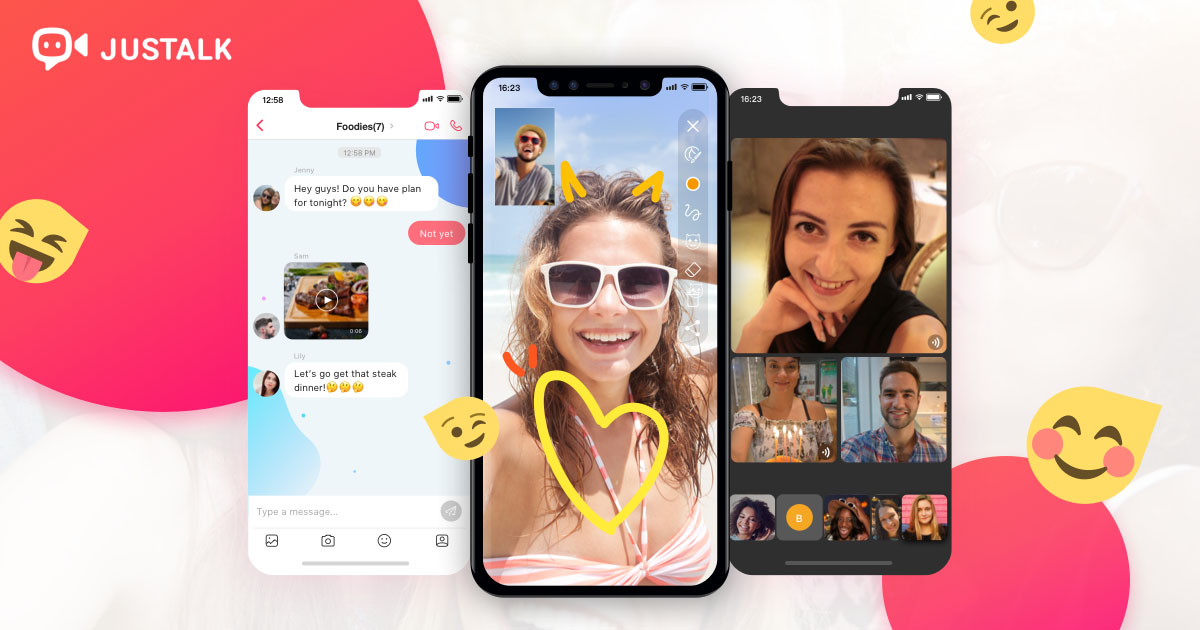 JusTalk - The best video calling app